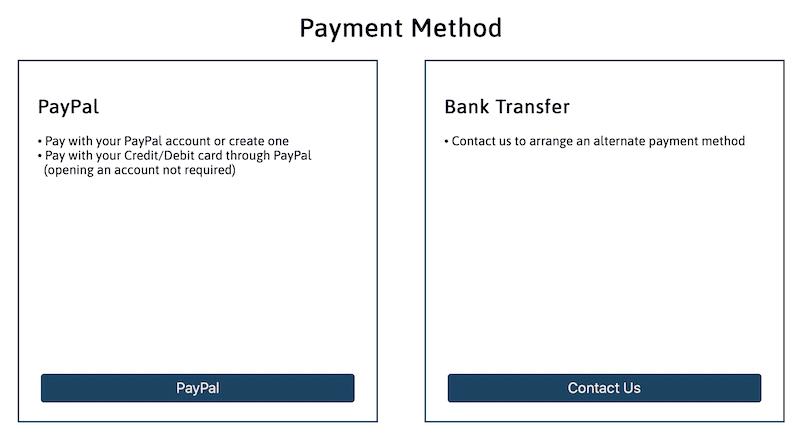 Payment Method TestCompass